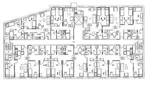 a floor plan of pittsburgh housing services