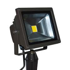 Outdoor Flood Lighting Ideas by Pool Degree Black Motion Activated Outdoor Flood Light Defiant