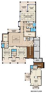 Fort Lee Housing Floor Plans Beach Style House Plan 6 Beds 6 50 Baths 10605 Sq Ft Plan 27 462