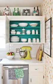 How To Organize The Kitchen Cabinets Home Tour Elsie U0027s Kitchen U2013 A Beautiful Mess