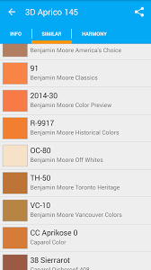 colors list catalog of paints android apps on google play