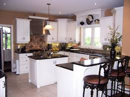 White Distressed Kitchen Cabinets Black And White Kitchen Antique White Kitchen Cabinets With Black