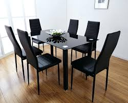 glass top dining room tables rectangular glass top dining room tables rectangular modern cracked table