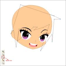 tutorial corel draw menggambar kartun an anime cartoon in corel draw