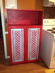 Ikea Red Cabinet Ikea Cabinet Makeover Before And After Hometalk