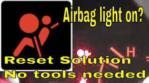 nissan altima airbag recall how to reset airbag light on nissan or infinity youtube