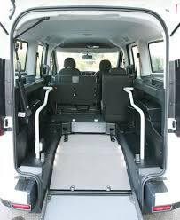 lifted mitsubishi endeavor opel combo with lowered floor kit for wheelchair users fiorella ws
