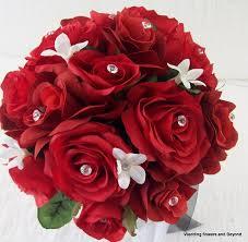 silk wedding flower packages wedding flowers silk wedding bouquets with flowers