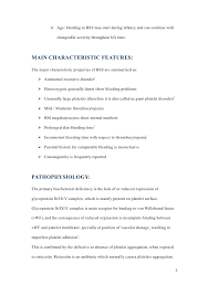 Good Resume Examples For First Job by Bernard Soulier Syndrome