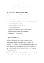 bernard soulier syndrome