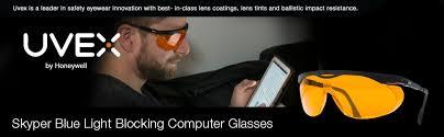 uvex skyper blue light blocking computer glasses uvex skyper blue light blocking computer glasses with sct orange