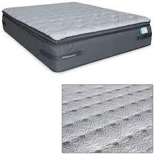vel p 50m velvet beach plush pillowtop queen mattress 51430251