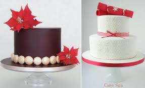 christmas cakes beautiful designs cake geek magazine