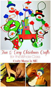 fun u0026 easy christmas crafts for the whole class crafty mama in me