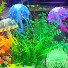 shop aquarium fish tank landscaping decoration glow