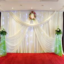 wedding backdrops for sale 2017 new design mandap 3 6 wedding curtain drapery for sale white