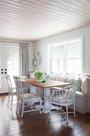 Build A Window Seat - dining tables white bench seating with storage dining table