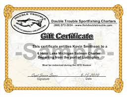 purchase u0026 personalize gift certificates for fishing charters