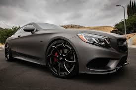 grey mercedes a class gunmetal grey mercedes s class coupe fitted with forgiato