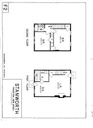 Housing Plan Stanworth Apartments