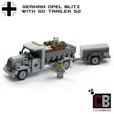 opel blitz custombricks de custom ww2 opel blitz sd trailer 52 with 2