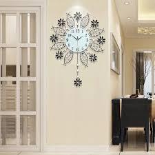 wanduhr design wohnzimmer 3d große schaukel wanduhr modernes design wand uhren wohnzimmer 74