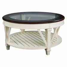 Traditional Coffee Tables by Hammary Promenade Round Coffee Table Hayneedle