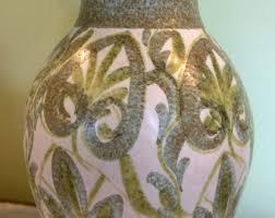 Denby Vase Pottery Green Vase Etsy