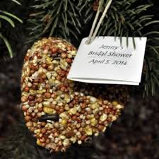 bird seed wedding favors heart of birdseed favors for bridal showers plant a