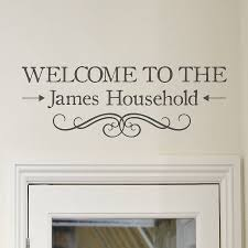 100 welcome wall sticker wall art saying promotion shop for welcome wall sticker welcome stickers the stickers