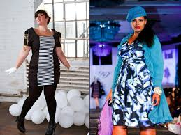 curves ahead plus size designers rule at full figured fashion