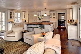 Kitchen And Living Room Design Ideas Farmhouse Decorating Ideas For Nice Living Space Bonnieberk Com