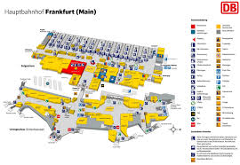 5 Train Map Frankfurt Hauptbahnhof Map Central Train Station