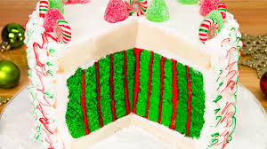 Make Christmas Cake Decorations Out Icing by Christmas Cake With A Surprise Inside From Cookies Cupcakes And