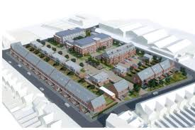 build on site homes plans unveiled to build 96 homes at old reading print room site
