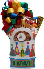happy birthday gift baskets happy birthday party hats gift basket