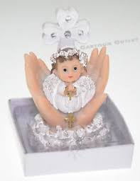 baptism figurines 12 pc recuerdos de bautizo baptism figurines angel white girl cake