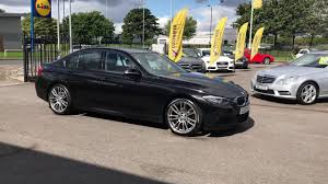 2013 black bmw 3 series 2 0 320d m sport saloon 4dr diesel manual