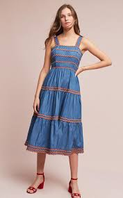 Little House On The Prairie Fashion How To Sew A Tiered Dress With Trim Weallsew