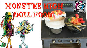 monter cuisine high doll food how to your own doll food