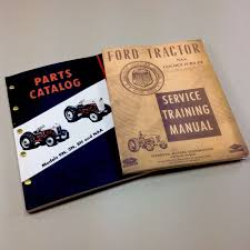 lot ford naa golden jubilee tractor service u0026 parts manuals repair