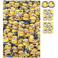 minion gift wrap minions and despicable me party supplies from partyplus ltd