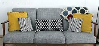 coussin canapé gris coussin pour canape gris 0 divan d angle gris bleu coussins quelle