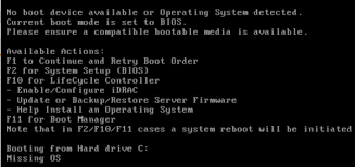 format hard disk bootmgr missing how to fix computer no boot device available error problem