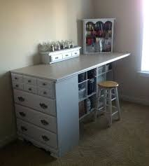 Craft Table Desk Tall Craft Table Tall Folding Craft Table Counter Height Folding
