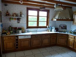relooker cuisine chene incroyable rénovation cuisine rustique renovation cuisine rustique