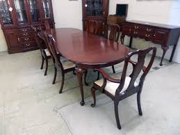 Cherry Dining Table Henkel Harris Black Cherry Dining Table Jenkins Antiques