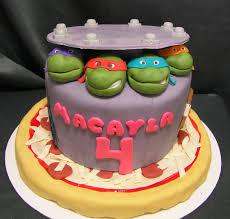 teenage mutant ninja turtles cake story kay cake designs