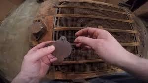 caterpillar rd6 hand crank door repair youtube