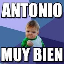 Antonio Meme - antonio success kid meme on memegen